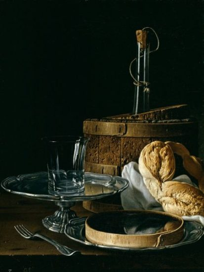 Still Life with Chilled Wine