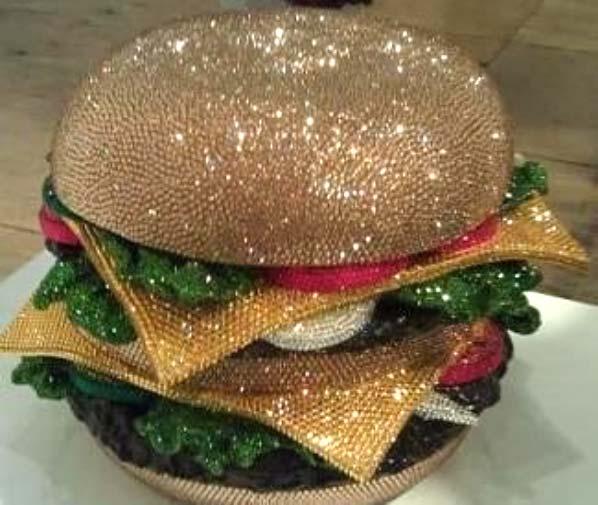 glitter burger