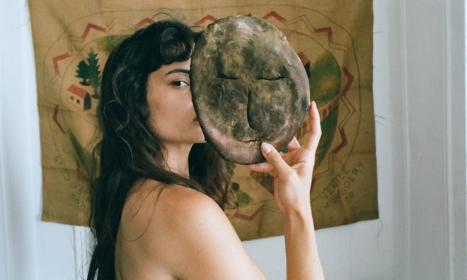 Portrait with Lexie Smith with a bread work